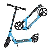Apollo XXL Wheel Scooter 200 mm - Spectre Pro es un City Scooter suspensión Doble, City Roller XXL Plegable y Ajustable en Altura, Grande Kick+B3 Scooter para Adultos y niños