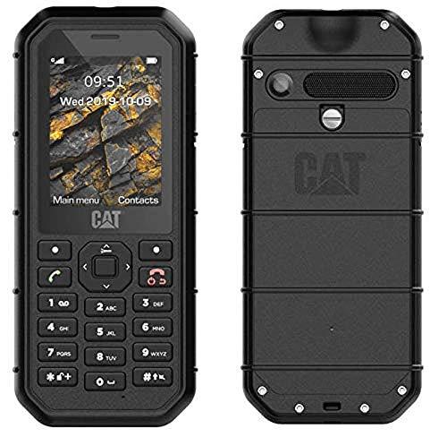 Caterpillar CAT B26 - Mobile Phone 8MB, 8MB RAM, Dual SIM, Black
