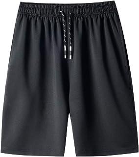Short De Sport Taille éLastiquéE Bermuda Pas Cher Mode Casual Baggy Drawstring Fast-Drying Outdoor Sports Shorts De Plage