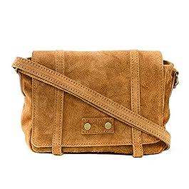 OH MY BAG Sac porté épaule Cuir porté bandoulière et de travers Femmes en véritable cuir fabriqué en Italie – modèle…