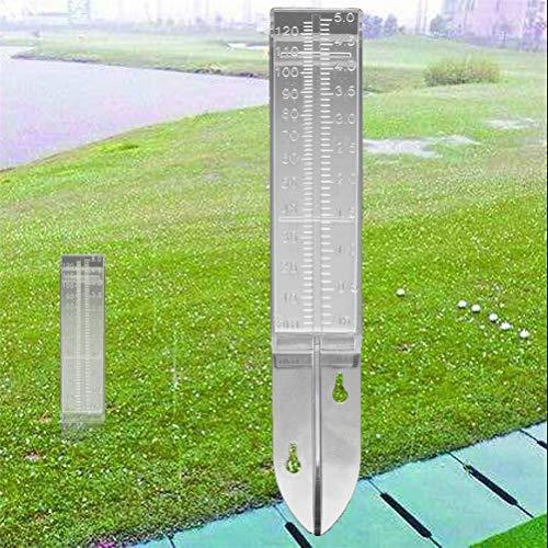 Wopohy Pluviómetro 120ml pluviómetro plástico Transparente para balcón, jardín, terraza