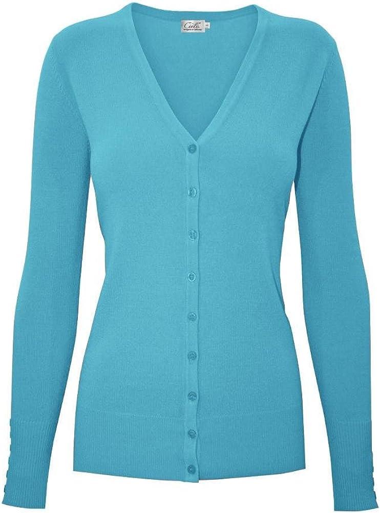 ShezPretty Womens 3/4 Sleeve Solid Open Bolero Cropped Cardigan