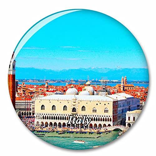 Italia Palacio Ducal Venecia Imán de Nevera, imánes Decorativo, abridor de Botellas, Ciudad turística, Viaje, colección de Recuerdos, Regalo, Pegatina Fuerte para Nevera