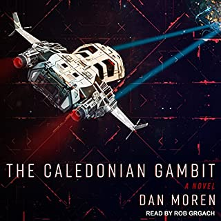The Caledonian Gambit     A Novel              Written by:                                                                                                                                 Dan Moren                               Narrated by:                                                                                                                                 Rob Grgach                      Length: 10 hrs and 54 mins     1 rating     Overall 4.0