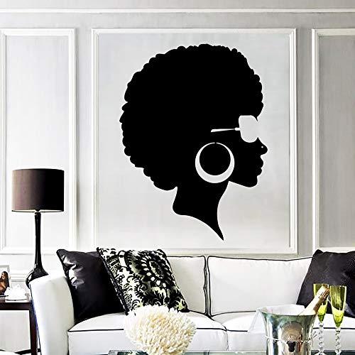 hetingyue Afrikaanse vrouwen muursticker woonkamer muursticker modern stijlvol kantoor decoratie