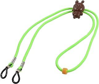 uxcell Green Elastic Nylon Neck String Catton Decor Glasses Retainer Holder