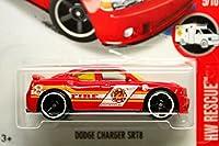 ホットウィール 2016 #215 ダッジ チャージャー SRT8 トレジャーハント Fire Red [並行輸入品]