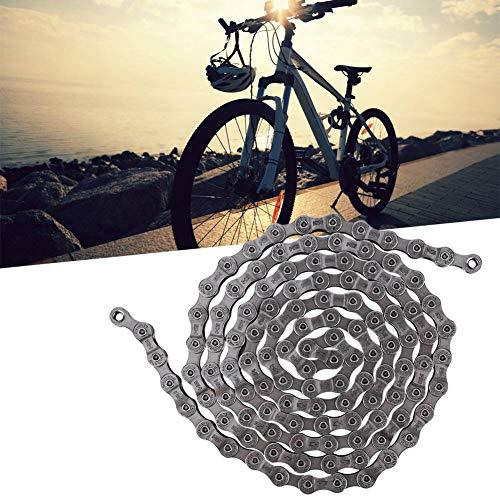 lahomie Catena per Mountain Bike Argento, Catena per Bici 9 velocità Argento per Bici da Strada HG73 Mountain Bike