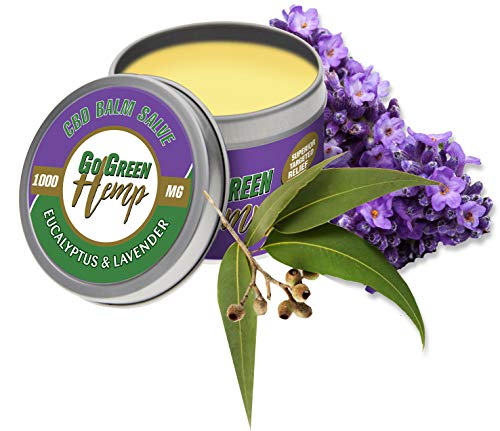 CBD Balsam Salbe Eukalyptus & Lavendel...