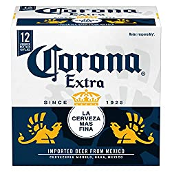 Corona Extra Mexican Lager Beer, 12 pk, 12 oz bottles, 4.6% ABV