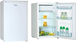 Super General 140 Liter Compact-Refrigerator/ Mini-Fridge/ White/ Child-Lock/ Defrost/ 840 x 500 x 560 mm/ SGR060H