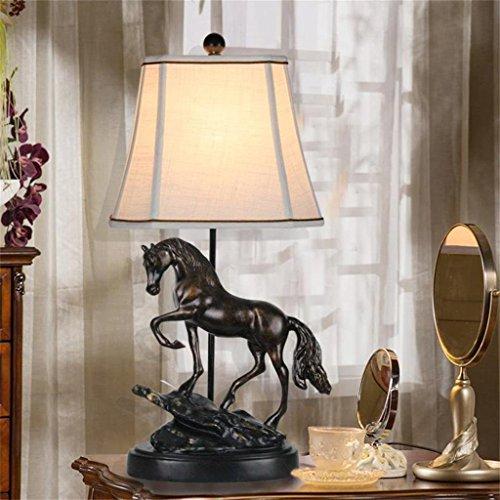 MILUCE Schlafzimmer Nachttisch Lampen Lernen Schreibtisch Lampe Eingang Personalisierte Pferd Lichter