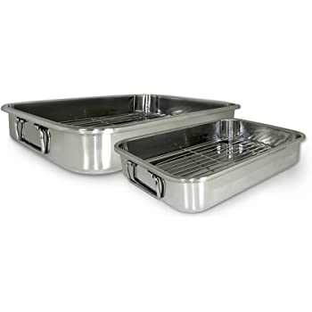 Cook Pro 4-Piece All-in-1 Lasagna and Roasting Pan