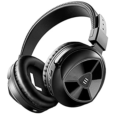 EKSA Bluetooth Headphones Over Ear Wireless Bass UP Mode Deep Bass Hi-fi Stereo Sound 24 Hrs Playtime with Bluetooth 5.0 Comfortable Earpads Wired Foldable Headphones for Cellphone/TV/Laptop/PC/Tablet from EKSA
