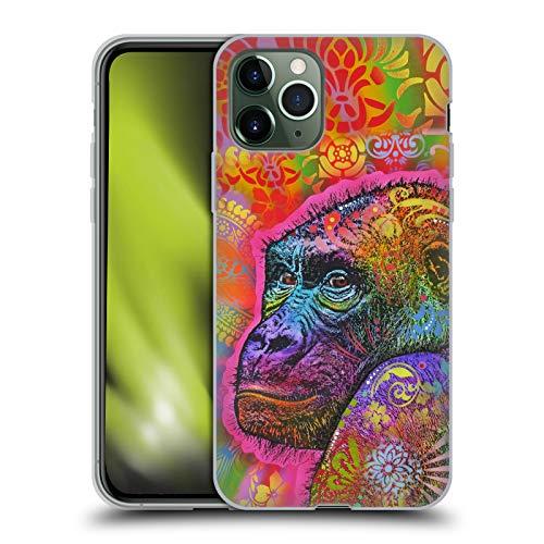 Head Case Designs Ufficiale Dean Russo Gorilla Vita Selvaggia 5 Cover in Morbido Gel Compatibile con Apple iPhone 11 PRO