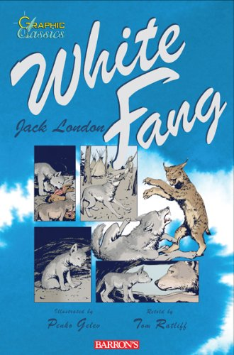 White Fang (Graphic Classics) 0764144502 Book Cover
