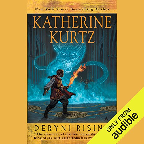 Deryni Rising audiobook cover art