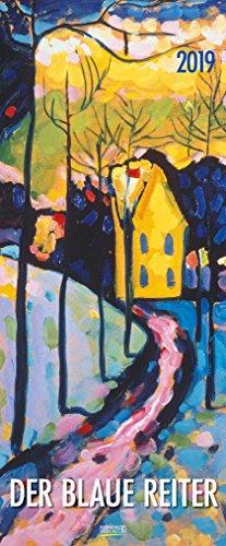 Der Blaue Reiter 205219 2019: Kunstkalender mit Werken der Gruppe der blaue Reiter, Expressionismus. Wandkalender im Hochformat: 28,5 x 69 cm, Foliendeckblatt