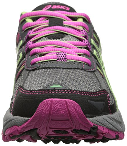ASICS Women's Gel-venture 5 Running Shoe, Titanium/Pistachio/Pink Glow, 8 M US
