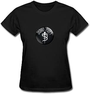 ZHENGXING Women's Skinny Puppy Industrial Music Group Logo Short Sleeve T-Shirt XXL ColorName