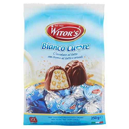 Witor´s Milchschokoladen-Pralinen mit Magermilchcremefüllung und Getreidecrispies 250g