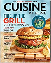 Cuisine at Home July August 2019 ***(+ FREE GIFT ) Fire up the Grill