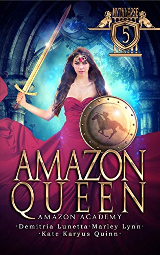 Amazon Queen: Amazon Academy by Quinn, Kate Karyus ebook deal