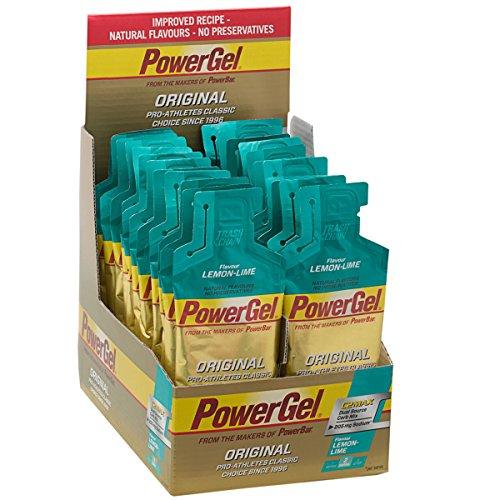 Powerbar PowerGel Lemon Lime - 24 Unidades
