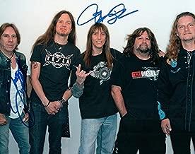 Tesla Jeff Keith + Signed Autographed Group Photo UACC RD RACC TS