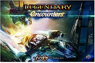 Upper Deck Legendary Encounters A Firefly Deck Building Game by