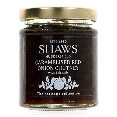Shaws | Caramelised Red Onion Chutney | 4 x 195g