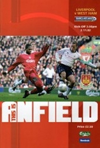Liverpool Vs West Ham 02/03 Seizoen