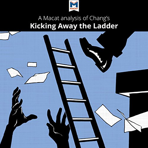A Macat Analysis of Ha-Joon Chang's Kicking Away the Ladder: Development Strategy in Historical Perspective audiobook cover art