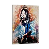 Neil Young Poster, dekoratives Gemälde, Leinwand,