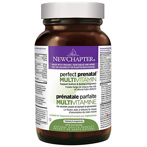 New Chapter Perfect Prenatal Vitamins - 96ct, Organic Prenatal...