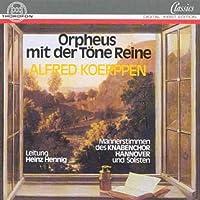 Orpheus Mit Der Töne Reine