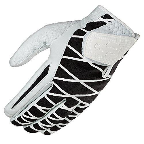 GRIP BOOST Herren Hand-Golfhandschuh Cabretta-Leder Schafsleder rutschfeste Golfhandschuhe, Herren, Worn on Right Hand, schwarz, Medium/Large