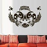 JXFM 96x144cm Peut Personnaliser Les Sports de Rugby américain pour Jouer au Ballon de Rugby aux Enfants