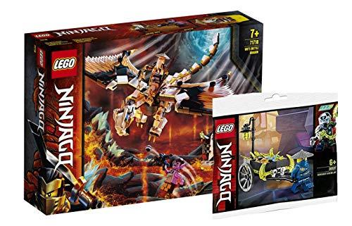 Collectix Lego Ninjago - Set: 71718 WUS gefährlicher Drache + 30537 Merchant Avatar Jay