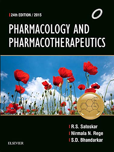 Pharmacology and Pharmacotherapeutics, 24th Ed.