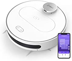 (Renewed) 360 S6 Robotic Vacuum Cleaner with Wet Mopping Function APP Control, LDS, Intelligent Navigation, 1800Pa...