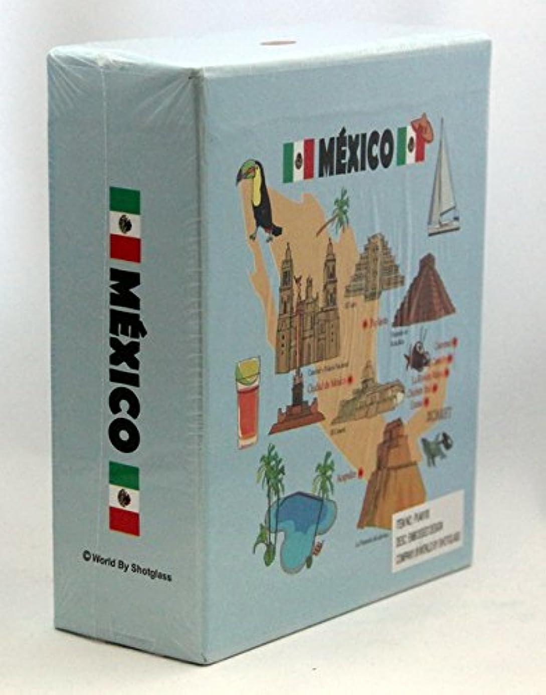 Mexico Embossed Photo Album 100 Photos / 4x6 uwsmrj9759