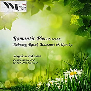 Romantic Pieces for Saxophone and Piano