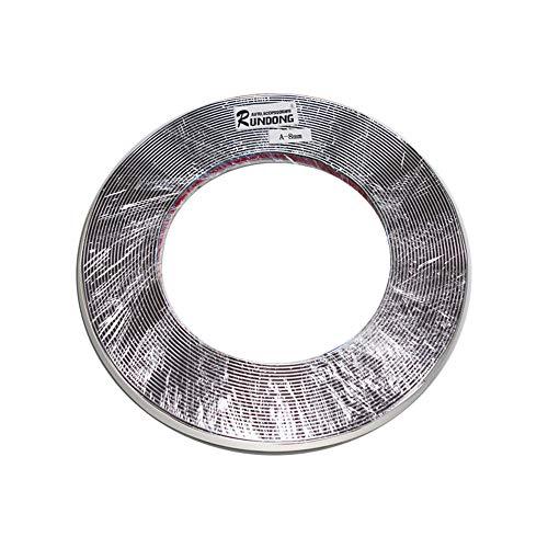 15 M Tira de Moldura de Ventana de Coche Decoración de Plata Cromada Cinta de Tira De Moldura PVC Universal Tira Anticolisión DIY Etiqueta de Recorte de Carrocería (8 mm * 15 m)
