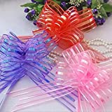 It can be used in room decoration, art and craft, Making flowers perfect for your holiday crafts, wedding, birthday gift Christmas Gift sewing, scrapbooking, brides wedding cars and church gates Christmas trees, wine bottles, brides cars any type of ...