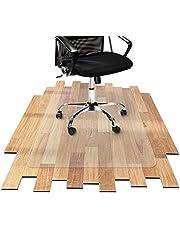 OfficeMarshal Protector Escritorio Transparente - Alfombra Oficina para Silla con Ruedas   Uso para Suelo Duro   PVC   Muchos tamaños (116x200 cm)