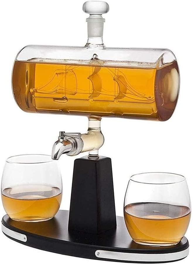 Ranking Omaha Mall TOP7 beautiful Whiskey Decanter Glasses Whisky 750Ml