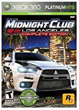 New Take-Two Midnight Club: Los Angeles Complete Edition Racing Game Xbox 360 Excellent Performance
