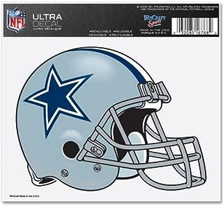 WinCraft NFL Dallas Cowboys 16768031 Multi-Use Colored Decal, 5