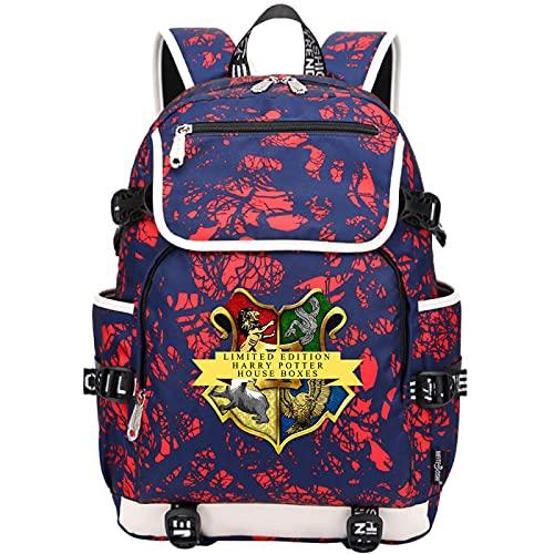 QLma Mochila de viaje para 15.6 pulgadas computadora portátil, mochila escolar universitaria de para hombres y mujeres con puerto de carga USB 45x37x16cm (style12)